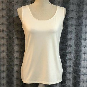 Charter Club Small White Tank Top Knit Shirt NEW